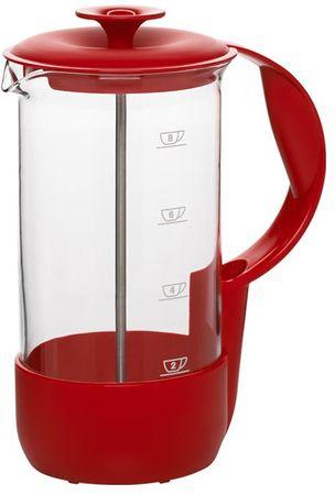 Emsa kafetiera Neo - za 8 skodelic, rdeča