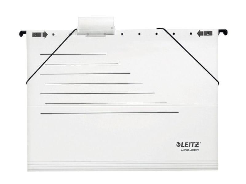 Závěsné desky ALPHA ACTIVE s bočnicemi bílé