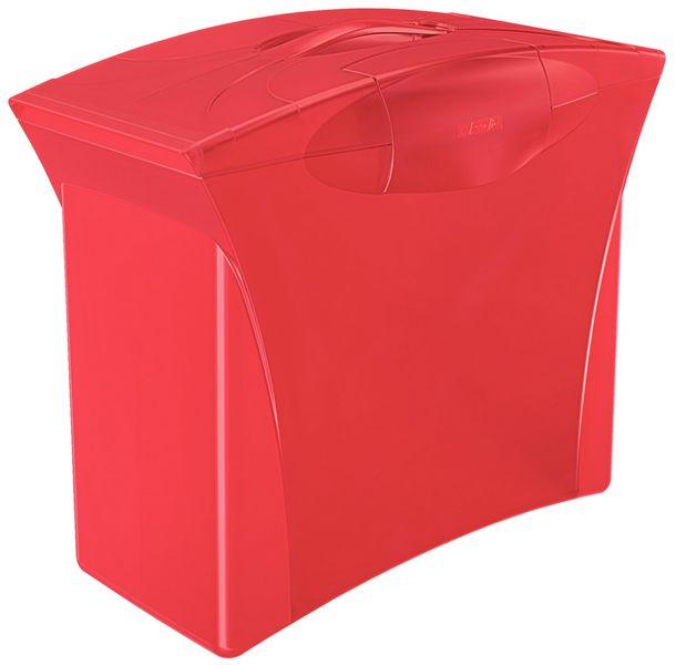 Zásobník na závěsné desky Esselte Europost VIVIDA červený