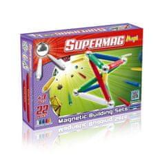 SUPERMAG Klocki magnetyczne Maxi Classic 22 el.