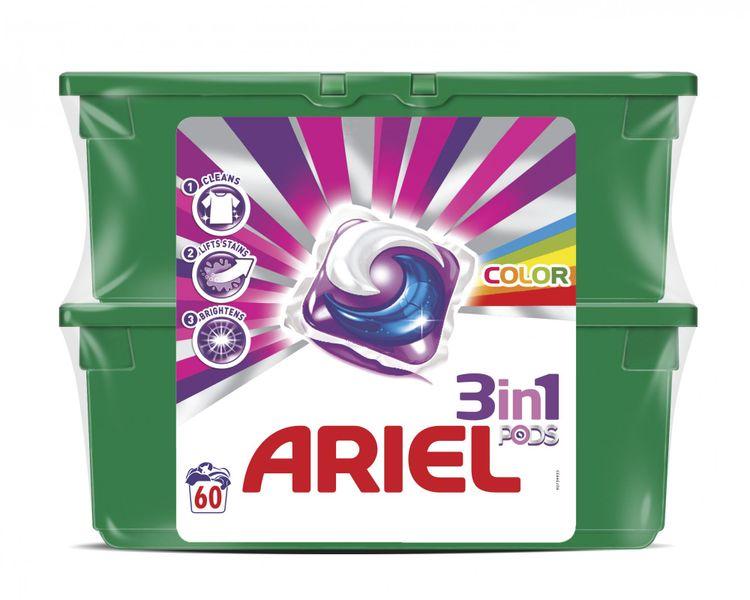 Ariel Color & Style prací kapsle 60 ks