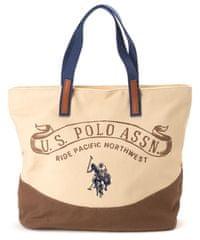 U.S. Polo Assn. ženska ročna torbica bež
