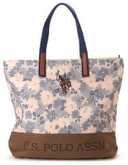 U.S. POLO ASSN. torebka damska niebieski