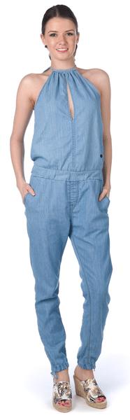 Pepe Jeans dámský jeansový overal Lopez L modrá