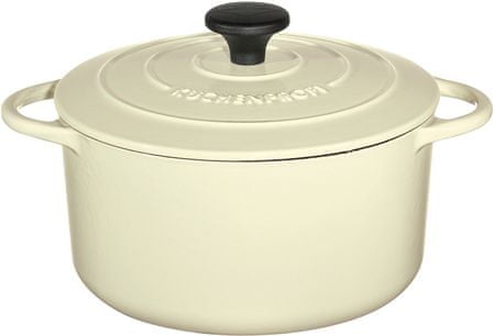 Küchenprofi lonec za pečenje Provence, 26 cm, krem