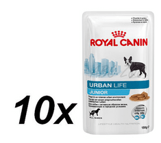 Royal Canin saszetki dla psa Urban Life Junior Dog 10 x 150 g
