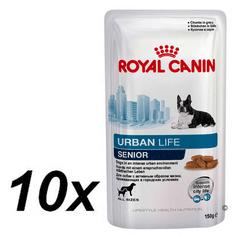 Royal Canin Urban Life Senior Dog Kutyaeledel 10 x 150 g