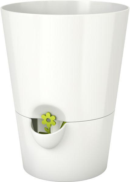 Emsa Samozavlažovací květináč na bylinky bílá