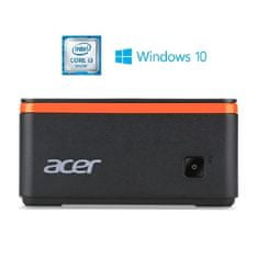 Acer mini računalnik Revo Build M2-601 i3/4GB/1TB/Dos