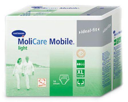 Hartmann spodnje hlače za inkontinenco MoliCare Mobile Light, XL, 14 kosov