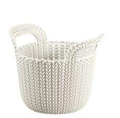 Curver košara Knit, okrogla