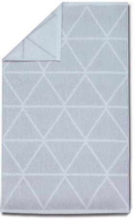 Framsohn Triangle Törölköző, 50 × 100 cm, Fehér
