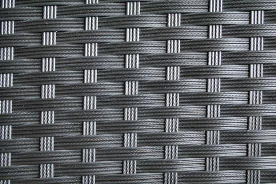 M-TREND Jamaica set, ratanový, černá - rozbaleno