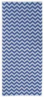 Framsohn plážová osuška Chevron 75x180 cm modrá