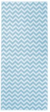 Framsohn brisača za na plažo Chevro, svetlo modra