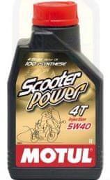 Motul olje 4T Scooter Power 5W40 1L