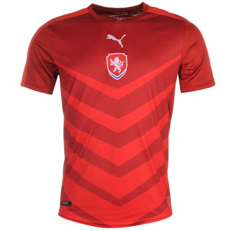Puma Czech Republic Home Shirt chili pepper M