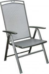 Doppler nastavljiv kovinski stol Savena