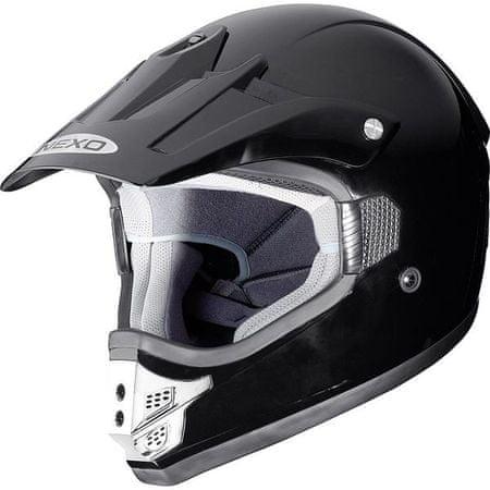 Nexo čelada MX Line, črna XS