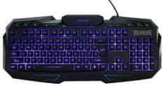 Evolveo GK680, herní klávesnice s podsvícením, USB