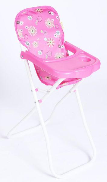 Teddies Židlička pro panenky vysoká