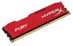Kingston pomnilnik HyperX Fury 8 GB, 1333 MHz DDR3, CL9, rdeč