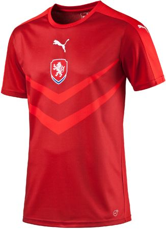 Puma Czech Rep Home B2B Shirt chili pepper XL