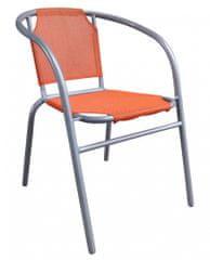 Happy Green jeklen stol Textilen, oranžen