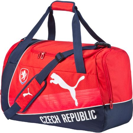 Puma torba sportowa Czech Republic evoPOWER Medium Bag red-white