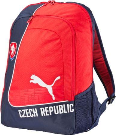 Puma plecak Country Backpack Licensed black-white-red