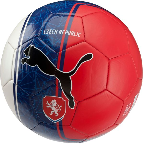 Puma Country Fan Balls Licensed white-blue-red 5