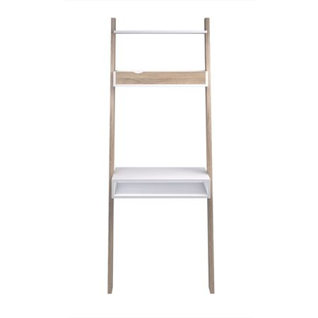 PC stolík DELTA 75389, dub sonoma /biela