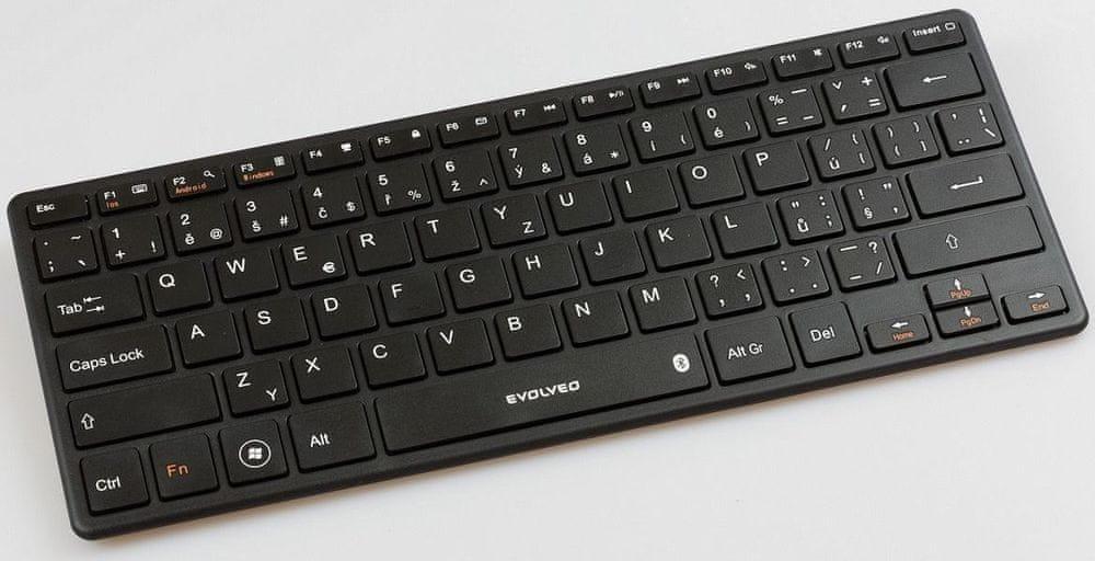 Evolveo WK29B Bluetooth klávesnice černá