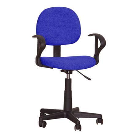 Kancelárska stolička TC3-227, modrá