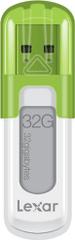 Lexar JumpDrive V10 32GB / USB 2.0 / White-Green (LJDV10-32GABEU)