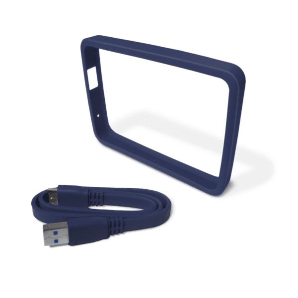 WD Grip Picasso 1TB Blue-Black - ochranné pouzdro