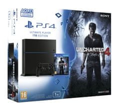 SONY konsola Playstation 4 1TB + Uncharted 4: Kres Złodzieja