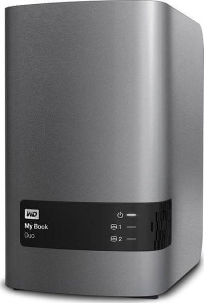 "WD My Book Duo 8TB / Externí / USB 3.0 / 3,5"" (WDBLWE0080JCH-EESN)"