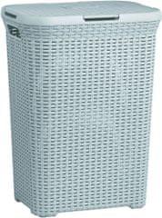 CURVER Szennyes tartó kosár 60l Style világos szürke