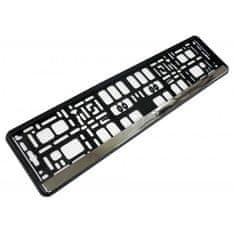 DEPO Auto Parts 61517 Króm rendszámkeret
