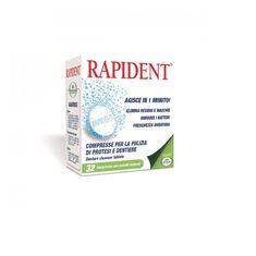 L'Angelica tablete za čiščenje proteze Rapident, 32 komada
