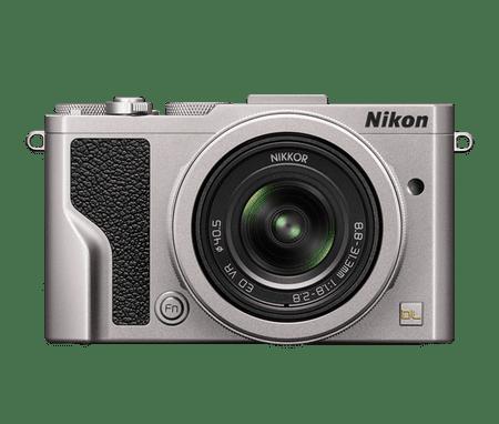 Nikon digitalni fotoaparat DL 24–85 MM/1.8–2.8 srebrna