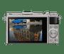 2 - Nikon digitalni fotoaparat DL 24–85 MM/1.8–2.8 srebrna
