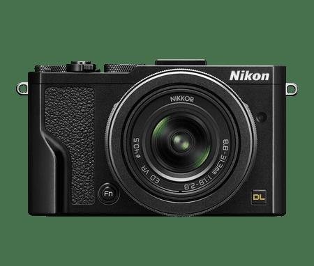 Nikon digitalni fotoaparat DL 24–85 MM/1.8–2.8 črna