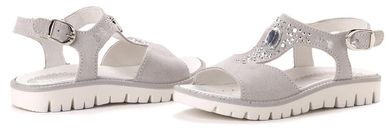 Primigi dívčí sandály Mirza 27 šedá