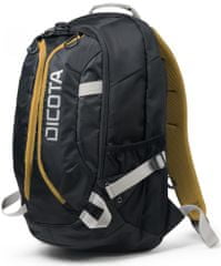 "Dicota Backpack Active 14"" - 15.6"" black / yellow (D31048)"