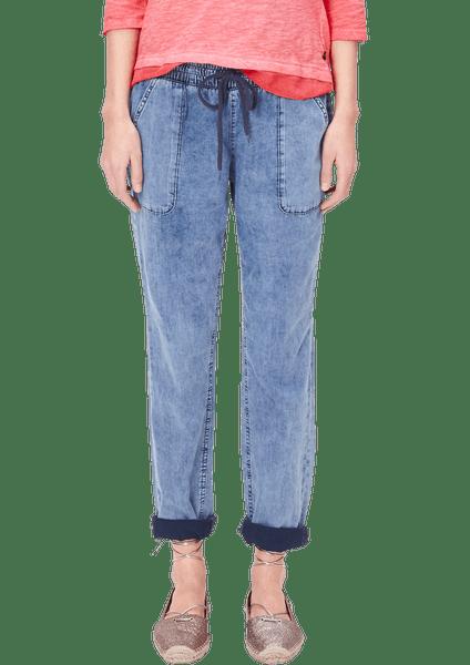 s.Oliver dámské kalhoty L modrá