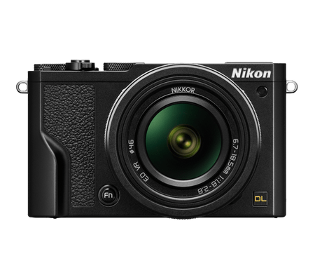 Nikon digitalni fotoaparat DL 18–50 MM/1.8–2.8, črn