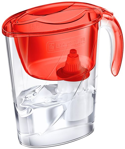 Barrier Eco filtrační konvice na vodu červená