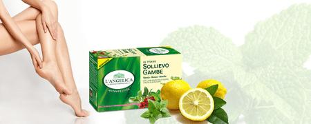 L'Angelica zeliščni čaj za utrujene noge, 20 vrečk